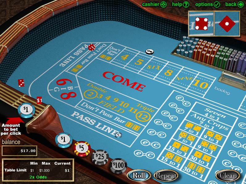 Craps at Betsafe Casino