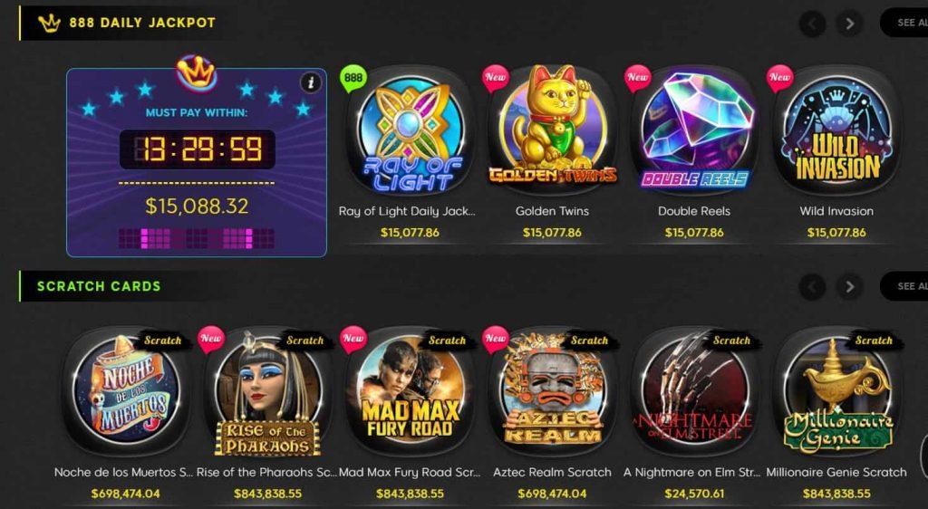888 casino jackpots-min