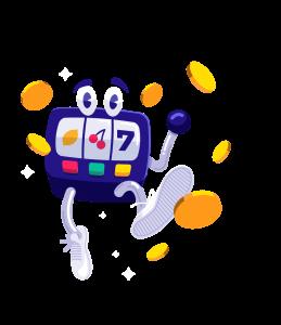 Caxino slots machine mascot